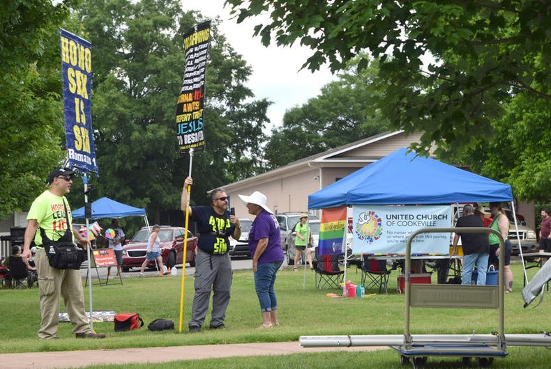Timothy Brown at Upper Cumberland Pride Festival