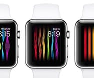 Apple's rainbow dancing iWatch face automatically disappears in Russia