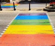 Malta installs rainbow crosswalk across centuries old street