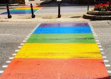 Malta installs rainbow crosswalk across centuries old street