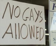 Hardware store posts 'No Gays Allowed' sign after Supreme Court cake decision