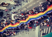 Pride was celebrated all over the world over the weekend & we've got pictures