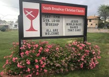 This church sign is making waves in that antigay baker's backyard