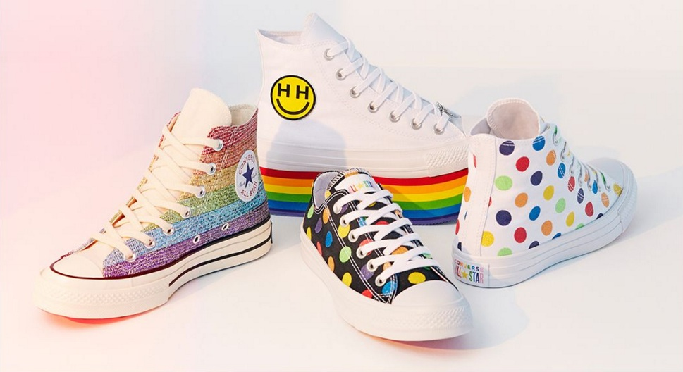 Miley Cyrus teamed up with Converse for a new Pride sneaker