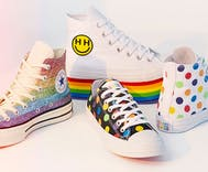 Miley Cyrus teamed up with Converse for a new Pride sneaker collection