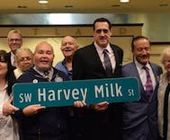 Portland honors Harvey Milk by renaming major street in LGBTQ district