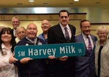 Portland honors Harvey Milk by renaming major street in LGBTQ district