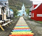 This tiny town in Iceland is celebrating pride in the most adorable way