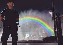Antigay thugs burned down Warsaw's rainbow statue. So they made it indestructible.