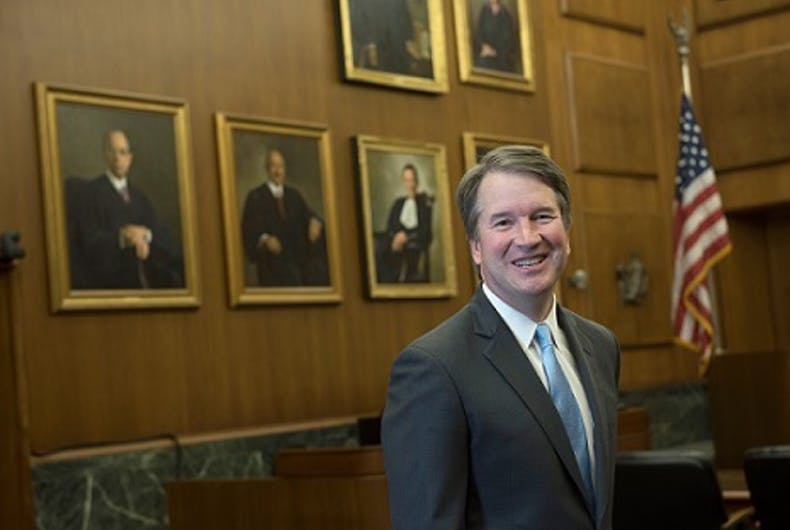 Brett Kavanaugh's record shows he may be a fierce opponent to LGBTQ rights
