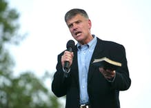 Franklin Graham tells Jimmy Carter that Jesus would kill gay people, not marry them