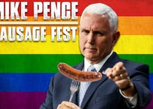 Kansas City will greet Mike Pence with a big gay 'sausage fest'