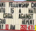 This Indiana church got evicted for its hateful sign