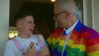 This video of dads surprising their LGBTQ kids on Pride will give you the feels
