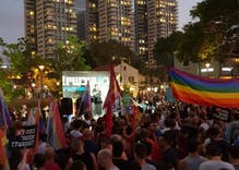 LGBTQ people went on strike in Israel & shut the country down