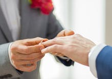 Science shows marriage is good for gay men's health
