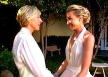 Ellen DeGeneres & Portia de Rossi celebrate 10 years of marriage via Instagram
