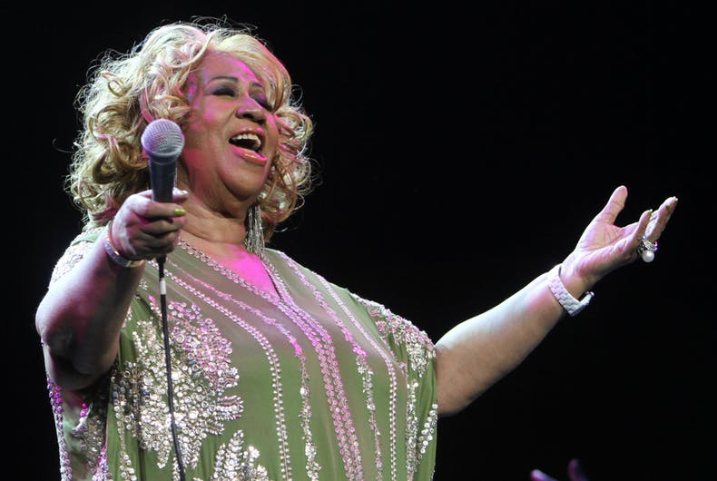 Aretha Franklin performs in concert at Radio City Music Hall on February 18, 2012, in New York.