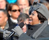 Aretha Franklin's royal funeral includes costume changes, concerts, & Rosa Park's hearse