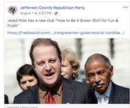 Colorado Republican Party calls Jewish, gay politician a 'Brownshirt' Nazi