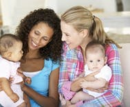 Study shows lesbian moms raise children just as healthy as mixed-gender parents