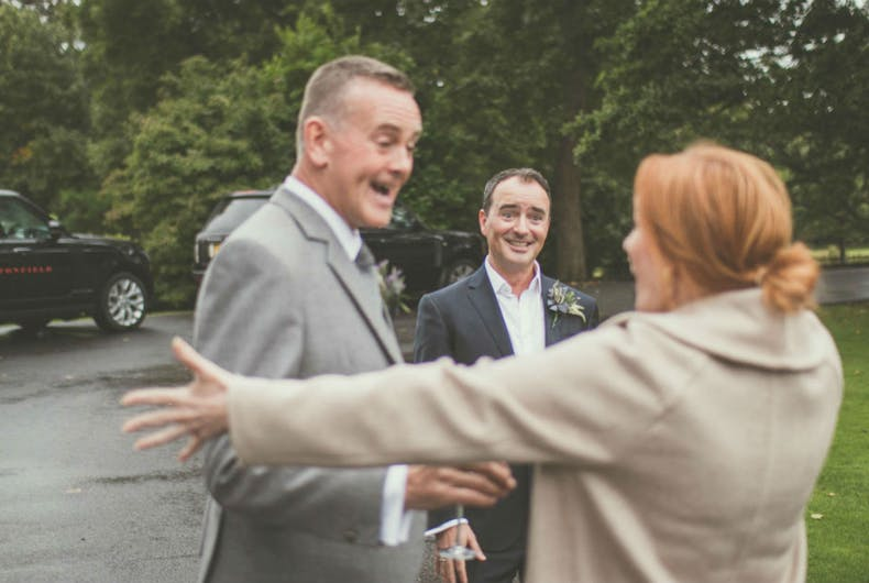 JK Rowling photobombed this Scottish same-sex wedding. It was kind of perfect.