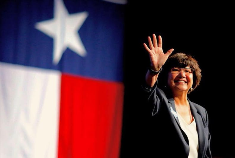 Will Texas find its first openly LGBTQ governor in Lupe Valdez? It's possible.