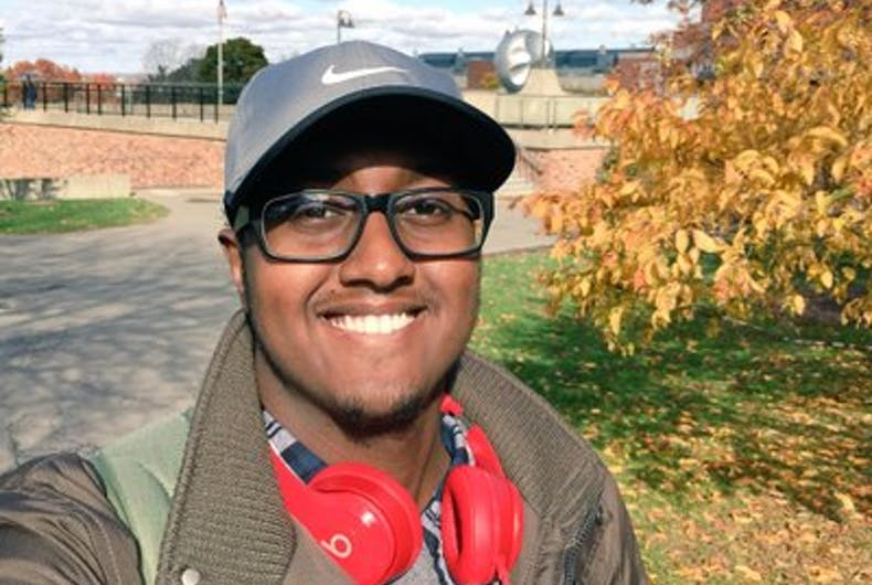 College student who fled anti-gay persecution awarded $10,000