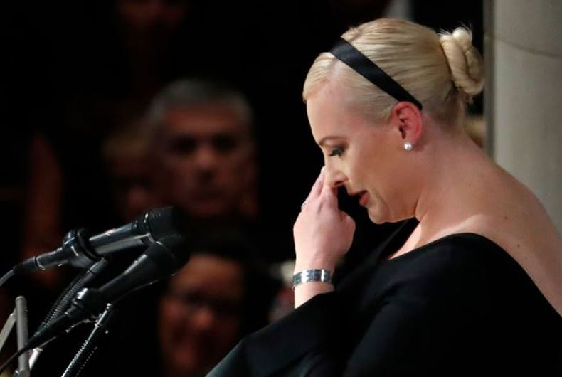 Meghan McCain slays Trump in father's eulogy: 'America was always great'