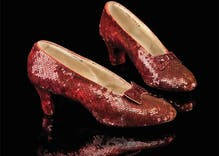 After 13 years, police recovered Dorothy's red slippers