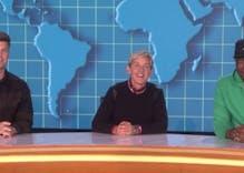 Ellen joins Michael Che & Colin Jost for hilarious SNL 'Weekday Update' skit