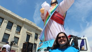 British town will protest hate preacher Franklin Graham's visit with a 'Gay Jesus' parade