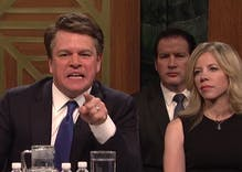 SNL & Matt Damon skewered Brett Kavanaugh last night