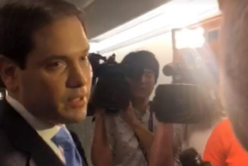 Marco Rubio calls Alex Jones a