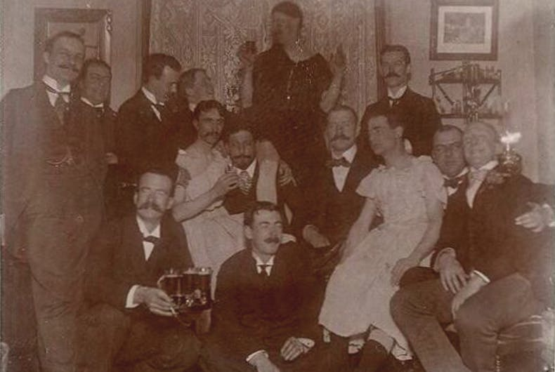 Private Party in Portland, 1900s