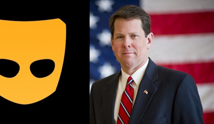 Antigay GOP candidate for governor of Georgia has been seen on Grindr lately