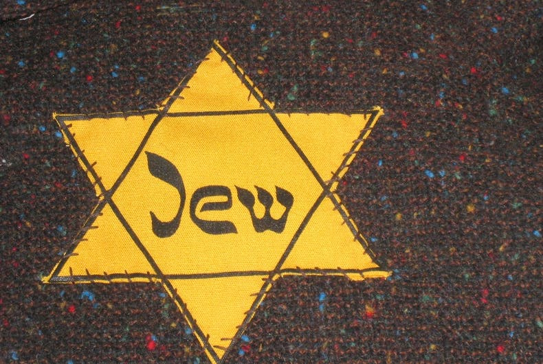 The yellow Star of David was used by Nazis to mark Jewish citizens.