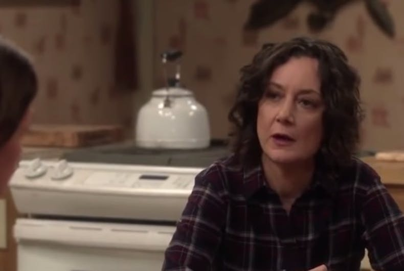Sara Gilbert and Laurie Metcalf star in the