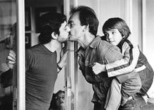 This photo from 1983 was the first to show gay parents in mainstream media