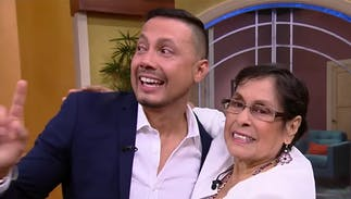 This TV personality's mom was there to support him when he came out to America