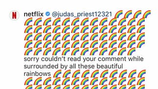 Netflix had the best response to a homophobe angry about gay TV characters