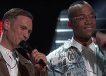 This gay couple sang a love song on 'The Voice' & brought Kelly Clarkson to tears