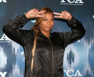 Is Queen Latifah about to have a baby with her longtime partner?
