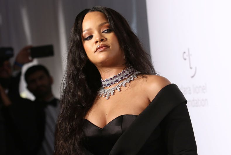 Rihanna attends the 3rd annual Diamond Ball at Cipriani on September 14, 2017, in New York City.