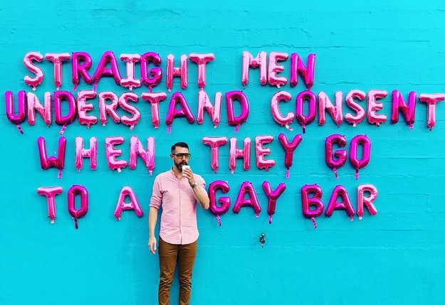 Gay harrassed in straight bars