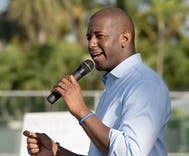 Andrew Gillum loses his bid to become Florida governor to a mini-Trump