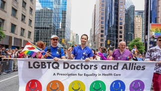 Thousands of healthcare providers are hitting back at Trump over attack on trans rights