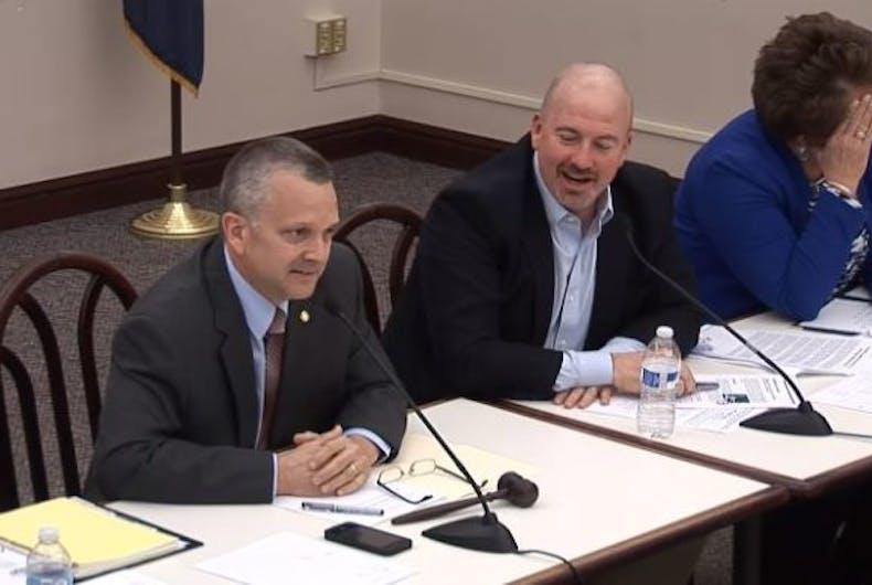 Pennsylvania representative Daryl Metcalfe told the state legislature last year that he is 'heterosexual.'