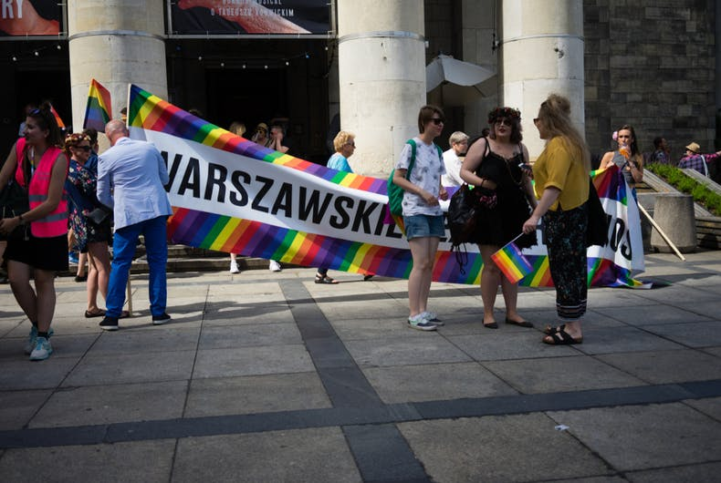 June 10, 2018: Warsaw's LGBTQ pride equality march