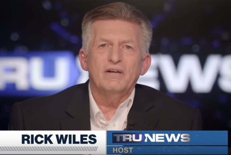 Christian broadcaster Rick Wiles